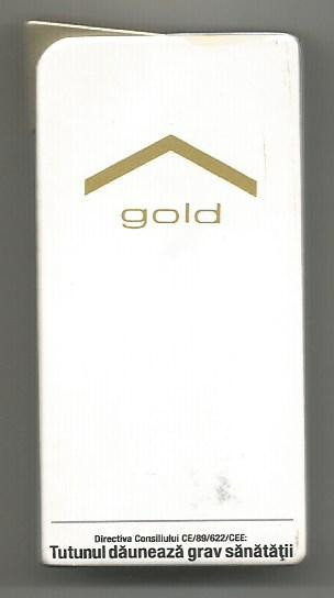 Bricheta metalica Marlboro Luxury Gold -2015 ( Made In France)