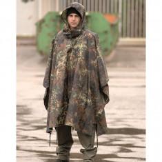 MFH Pelerina Militara US Poncho Flecktarn 08524V marime universala - Pelerina ploaie