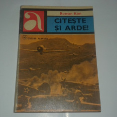 ROMAN KIM - CITESTE SI ARDE !