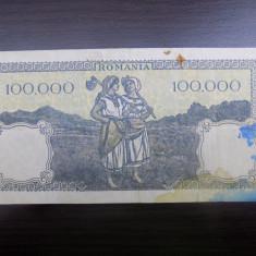 Bancnota Romania 100.000 / 100000 lei mai 1947 - Bancnota romaneasca