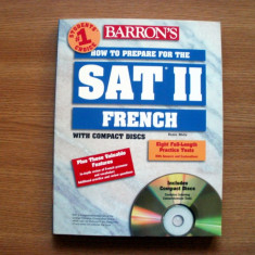 SAT Subject Test French Franceza - Certificare