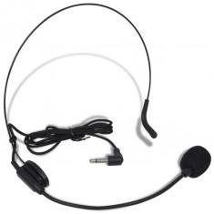 Set receptor cu microfon fără fir și căști VHF - Stativ Microfon