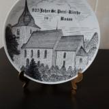 Farfurie decorativa, portelan german.