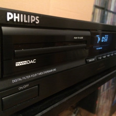 CD Player PHILIPS model CD 604 - model deosebit/ Made in Belgium/Impecabil