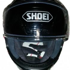 Casca moto SHOEI NXR / RF 1200 black negru lucios M, Marime: M