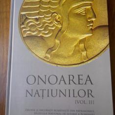 Onoarea natiunilor vol. II, Ordine si decoratii romanesti - Decoratie