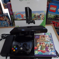 Consola Microsoft Xbox360 Slim 4G ca noua in cutie + Senzor Kinect + Adventures