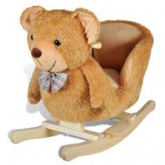 Scaun balansoar copii cu ursuleț - Masuta/scaun copii