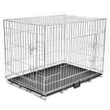 Cușcă pliabilă pentru câini, mărime XL - Cusca, cotet, tarc si colivie