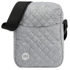 Borseta de umar Mi-Pac Flight Bag Quilted Gri (Masura Universala) - Cod 2492564 - Borseta Barbati