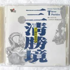 """CD Muzica Chineza """"Chinese Taoist Music 2. THREE PURITIES"""" - Muzica Ambientala"""