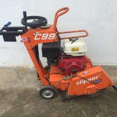 Masina de Taiat Asfalt si Beton Clipper C99 - Motodebitator
