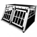 Cușcă transport câini în două uși - Cusca, cotet, tarc si colivie