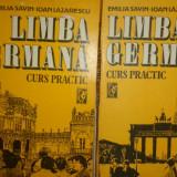 Limba germana curs practic an 1992/880pag- Emilia Savin, Ioan Lazarescu - Curs Limba Germana