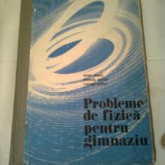 PROBLEME DE FIZICA PENTRU GIMNAZIU - ( clasele VI-VIII )  ~ MIHAIL SANDU