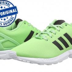 Pantofi sport Adidas Originals ZX Flux pentru femei - adidasi originali - panza - Adidasi dama, Culoare: Verde, Marime: 38, 38 2/3, Textil