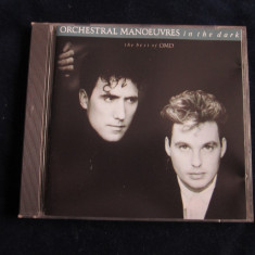 Orchestral Manoeuvres In The Dark - The Best Of OMD _ cd_Virgin(UK) - Muzica Pop virgin records