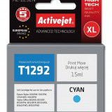 Cartus compatibil T1292 Cyan pentru Epson C13T12924010, Premium Activejet, Garantie 5 ani - Cartus imprimanta
