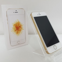 Apple iPhone SE Neverloked Gold 16GB ! Factura & Garantie 6 Luni ! - Telefon iPhone Apple, Auriu