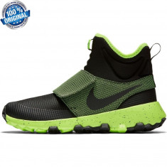 Unicat in ROMANIA ! ORIGINALI 100% Nike Roshe Mid Black/Volt nr 40 - Ghete barbati Nike, Culoare: Din imagine