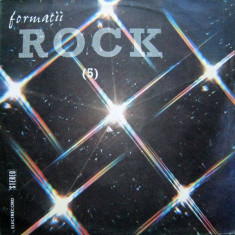 Formatii Rock 5 (LP - Romania - VG) - Muzica Rock, VINIL