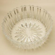 Bol mic din cristal - Bol sticla