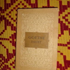 Faust traducere Lucian Blaga an1955/543pag- Goethe - Carte Teatru