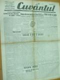Cuvantul 4 octombrie 1929 Nae Ionescu Mihail Sebastian Nasaud Iasi Ploiesti, Nae Ionescu