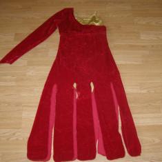 Costum carnaval serbare rochie dans pentru adulti marime XL - Costum dans, Marime: Masura unica, Culoare: Din imagine