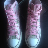 Converse All Star originali,high top,super model,nr.40-25,5 cm.