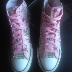Converse All Star originali, high top, super model, nr.40-25, 5 cm. - Tenisi dama Converse, Culoare: Multicolor, Textil