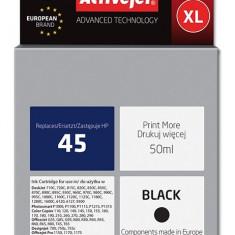 Cartus compatibil HP-45 black pentru HP 51645AE, Premium Activejet, Garantie 5 ani - Cartus imprimanta