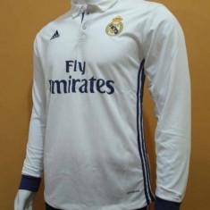 Tricou fotbal REAL MADRID model 2016-2017 Nr 7 RONALDO - Tricou echipa fotbal, Marime: L, XL, Culoare: Din imagine, De club, Maneca lunga