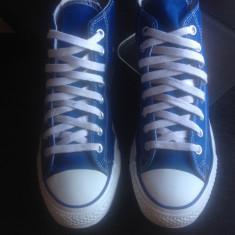 Converse All Star originali, high top, nr.42-27 cm. - Tenisi barbati Converse, Culoare: Albastru, Textil