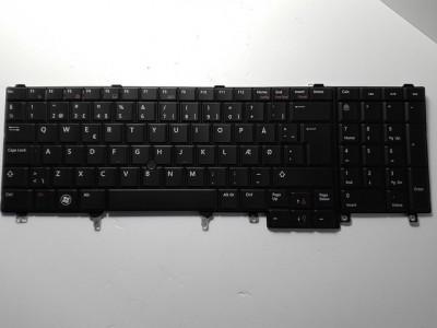 Tastatura Dell Latitude E6520 E5520 Precision M4600 M4700 M6600 M6700 DE Layout foto