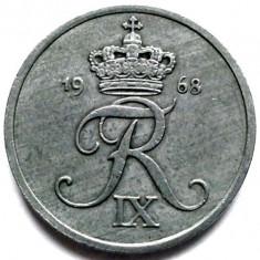 Danemarca Frederic al IX-lea (1947-1972) 2 Ore 1968, Europa, Zinc