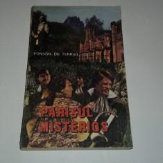 PONSON DU TERRAIL - PARISUL MISTERIOS - Carte de aventura