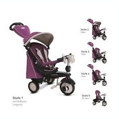 Tricicleta Smart Trike Recliner Infinitz purple