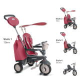 Tricicleta Smart Trike Voyage Red - Tricicleta copii