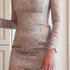 Rochie de seara, Marime: 36, Culoare: Argintiu