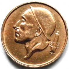 BELGIA, 50 CENTIMES 1955, MINER !!!, Europa, Cupru (arama)