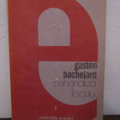Gaston Bachelard – Psihanaliza focului - Filosofie