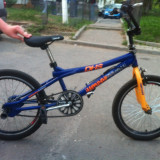 Bicicleta BMX Nespecificat jumper, 13 inch, 22 inch, Numar viteze: 1