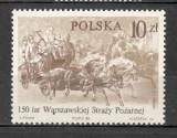 Polonia.1986 150 ani Pompierii din Varsovia-Pictura  SP.345, Nestampilat