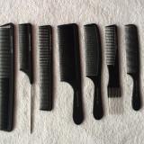 Set 9 piepteni frizerie/coafor Carbon antistatic