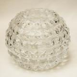 Vaza mica din cristal forma sferica - Vaza sticla