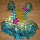 Costum carnaval serbare zana pentru copii de 5-6 ani - Costum Halloween, Marime: Masura unica, Culoare: Din imagine