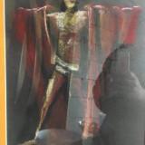 "Ion Iancut Pastel pe carton ~ 40x60cm, inramat ""Omul cu mantia rosie"" - Pictor roman, Abstract, Altul"