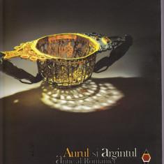 Aurul si Argintul antic al Romaniei carte lux uriasa 3 kg MNIR 2014 catalog ex