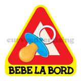 Sticker Auto / Autocolant  Auto Bebe La Bord